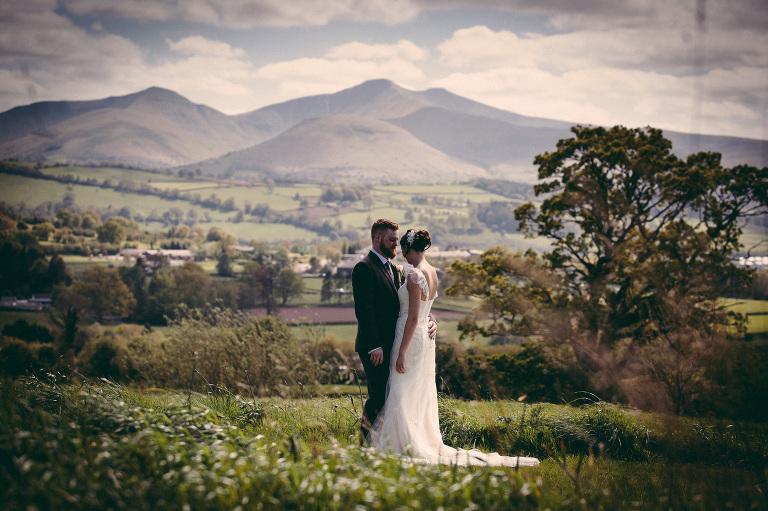 wedding photographer wales barn brynich