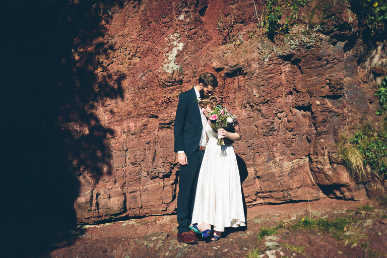 wedding photographer swansea laugharne