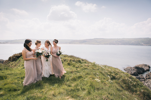 wedding photographer in Swansea group photo