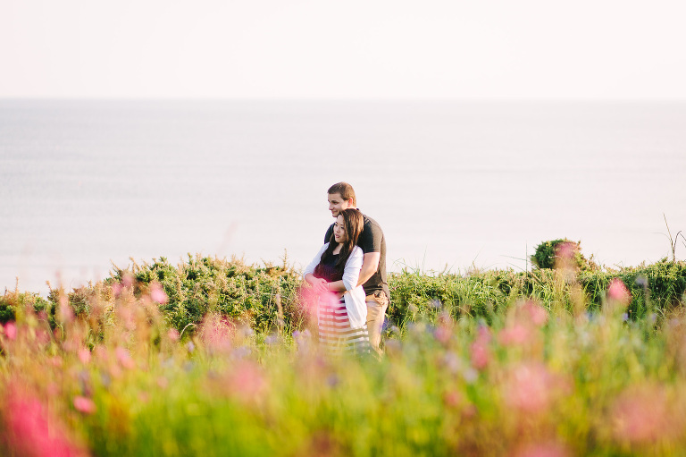 wedding photographers wales manorbier engagement shoot