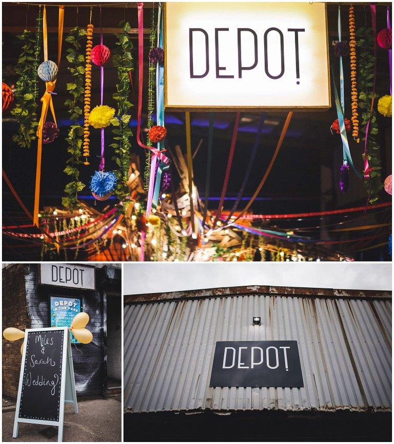 depot cardiff wedding photography