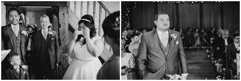 wedding ceremony wedding photographer south wales