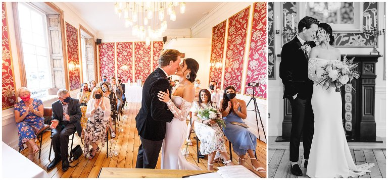 Bristol wedding at the rodney hotel in clifton.